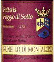 Photo of Poggio di Sotto 2003 Brunello di Montalcino 94 points